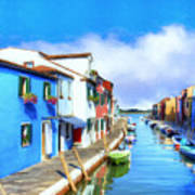 Isola Di Burano Art Print