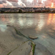 Israel Coast Art Print