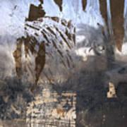 Israel, Jerusalem Abstract Of A Window Art Print