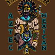 Issachar Aztec Warrior Art Print