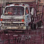 Isuzo Truck Art Print