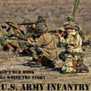 It Wasn't Our Book - Us Army Infantry Art Print