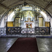 Italian Chapel Interior Art Print