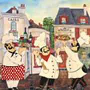 Italian Chefs-jp3042 Art Print