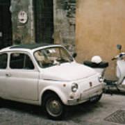 Italian Classic Commute  Art Print