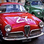 Italian Classics Alfa Romeo Art Print