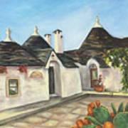 Italian Farmhouses  Art Print