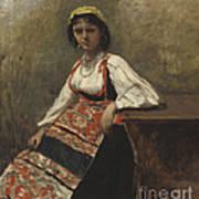 Italian Girl Art Print