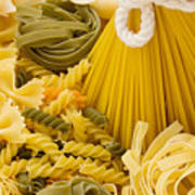 Italian Pasta Art Print