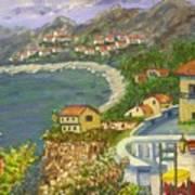 Italian View Art Print