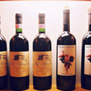 Italian Wines Art Print