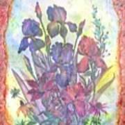 Itallian Garden Art Print