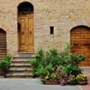 Italy - Door Eight Art Print