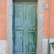 Italy - Door Five Art Print