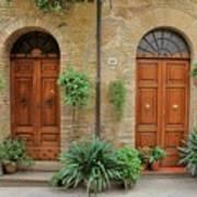 Italy - Door Seventeen Art Print