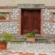 Italy - Door Twenty Two Art Print