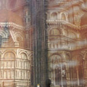 Italy, Florence, Duomo And Campanile Art Print