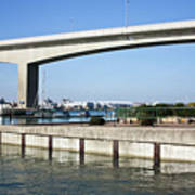 Itchen Bridge Southampton Art Print