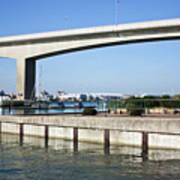 Itchen Bridge Southampton Art Print