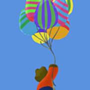 It's A Bird, It's A Plane, It's Easter Art Print