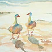 It's A Ducky Day Art Print
