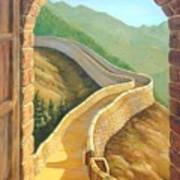 It's A Great Wall Art Print