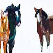 It's All About The Horses Art Print
