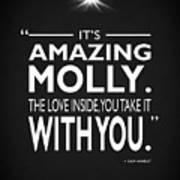 Its Amazing Molly Art Print
