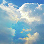 It's Clouds Illusions I Recall 2 Art Print