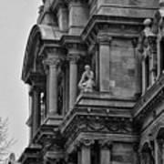 It's In The Details - Philadelphia City Hall Art Print