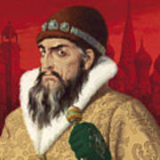 Ivan The Terrible Art Print by English School