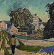 I've Decided To Retrace The Path That Vincent Took With His Easel That Day Art Print