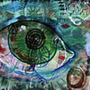 I've Got My Eye On You Art Print