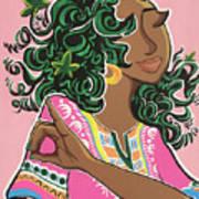 Ivy And Dashiki Art Print