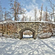 Ivy Bridge Winter Art Print