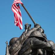 Iwo Jima 1945 - War Memorial, Cape Coral, Florida Art Print