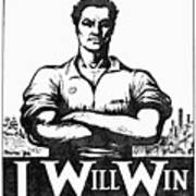 Iww Poster, 1917 Art Print