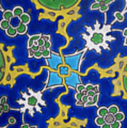 Iznik Tiles In Topkapi Palace Istanbul  Art Print