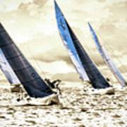 J Boats 2 Art Print
