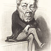 J. Marie Joseph Deville Art Print