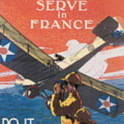 Join The Air Service Art Print