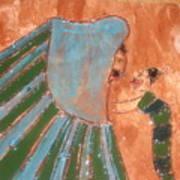 Jaaja Getu And Her Abigail - Tile Art Print