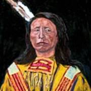 Jack Red Cloud Art Print