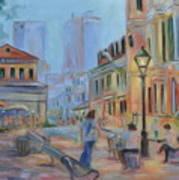 Jackson Square Musicians Art Print