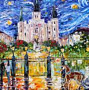 Jackson Square New Orleans Art Print