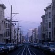 Jackson Street San Francisco Art Print