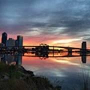 Jacksonville Sunrise Art Print