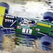Jacky Ickx - Brabham Bt26 Art Print