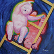 Jacob And Essau-yin Yang Art Print