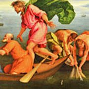 Jacopo Bassano Fishes Miracle Art Print